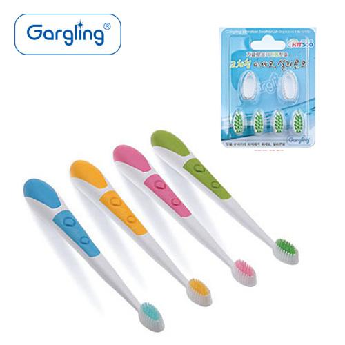 Gargling 가글링 음파진동칫솔GB500 2세트+칫솔리필GR400 1세트